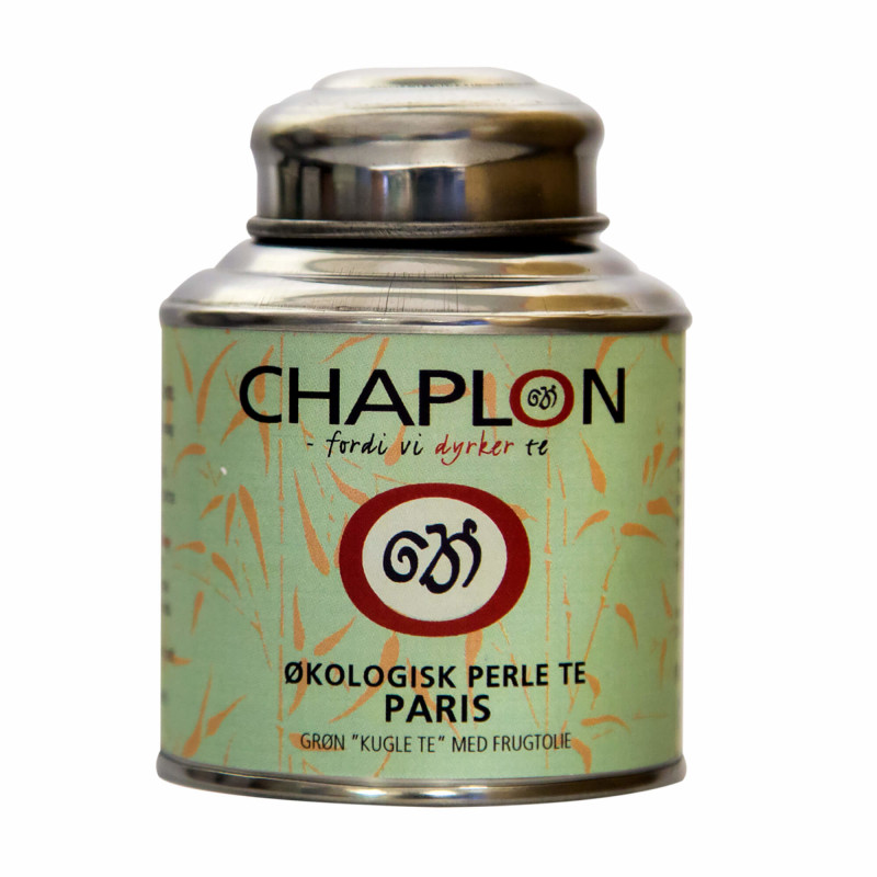 Grøn Perlete Paris fra Chaplon Tea