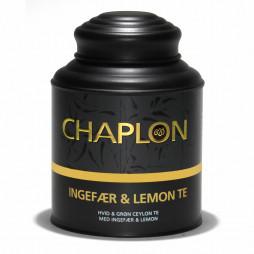 Ingefær og lemon te fra Chaplon Tea i dåse
