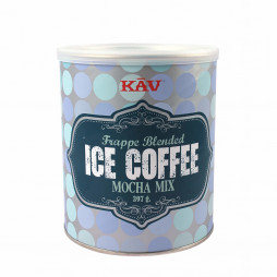 Frappe Blended Ice Coffee Mocha Mix fra KAV i dåse med 397 gram