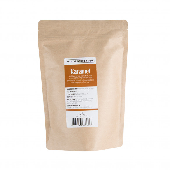 Hele kaffebønner med karamel smag fra KAFFE Specialisten