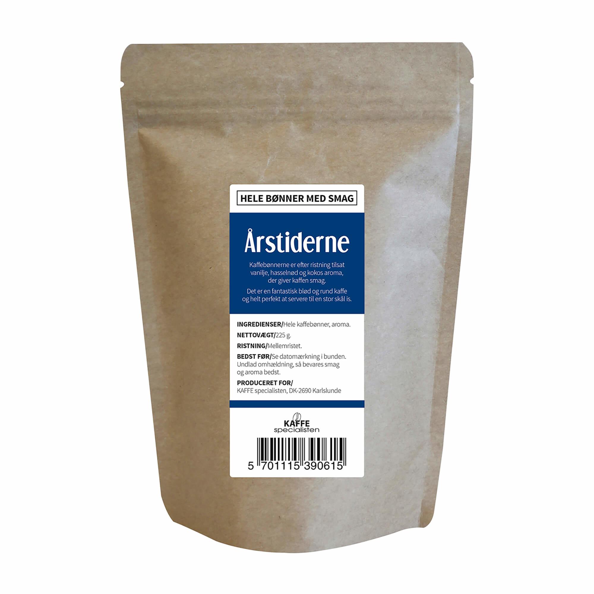 KAFFE Specialisten Kaffebønner Årstiderne Smag