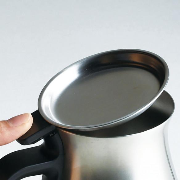 Pour over kedel i blank stål 900 ml, fra Kinto