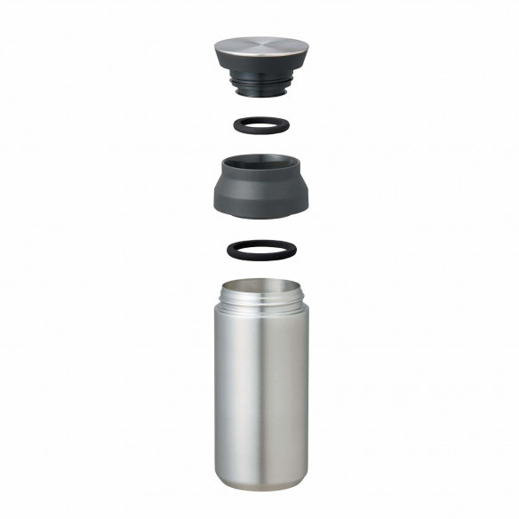 Travel Tumbler termokrus, sort 350 ml fra Kinto