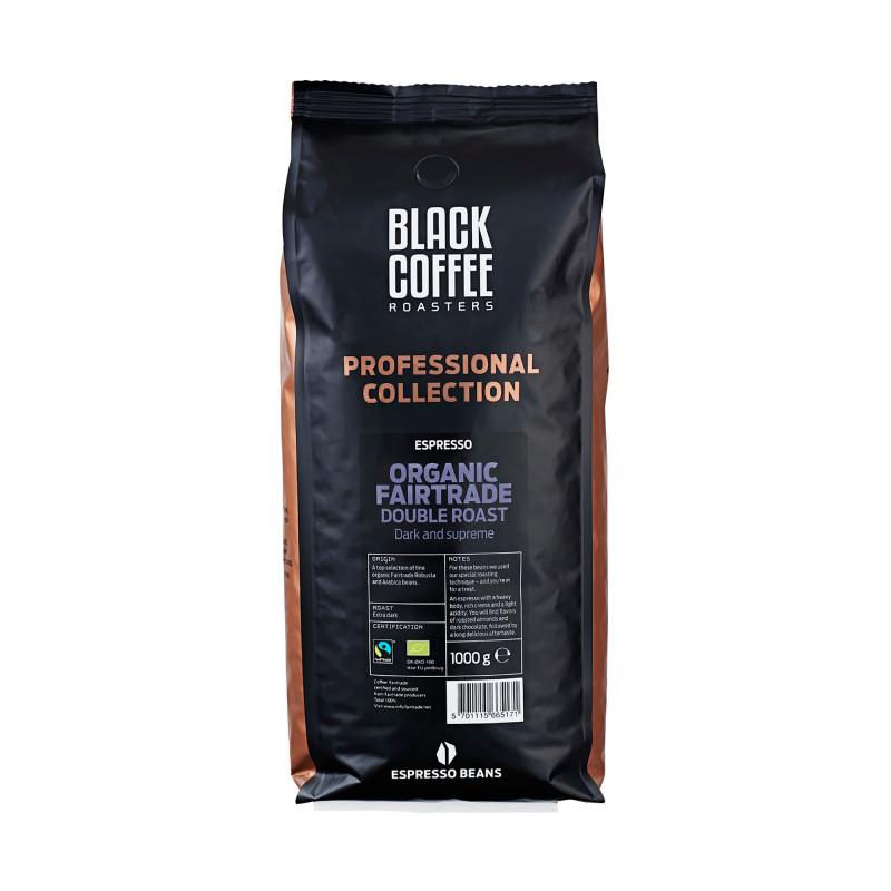Double Roast Organic Fairtrade Espresso, 1 kg