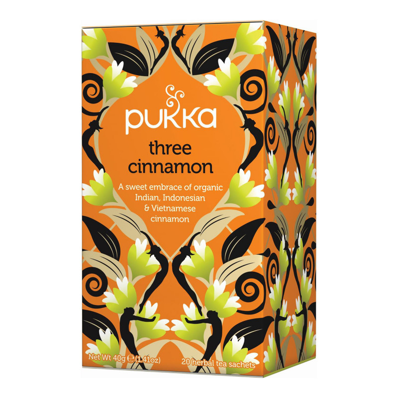Pukka Three Cinnamon, 20 breve