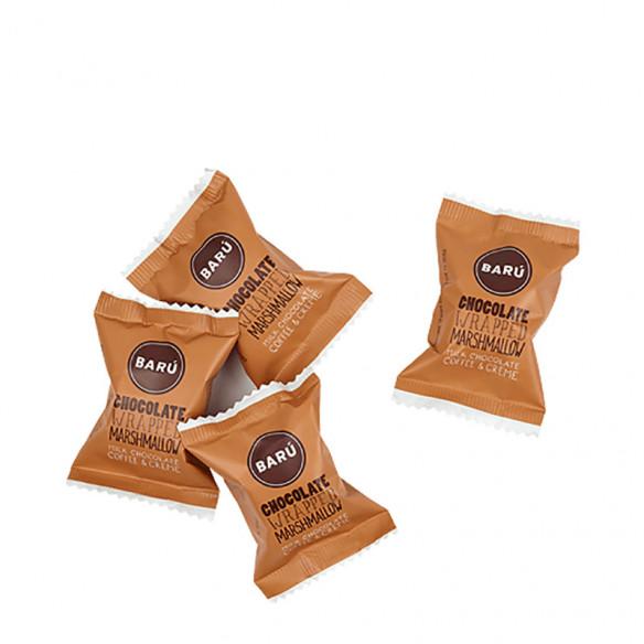 Milk Chocolate Coffee & Cream Marshmallow, 60 gram fra BARÚ