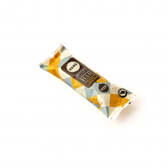Milk Chocolate & Crunchy Cashew Bar fra Barú - 30 gram