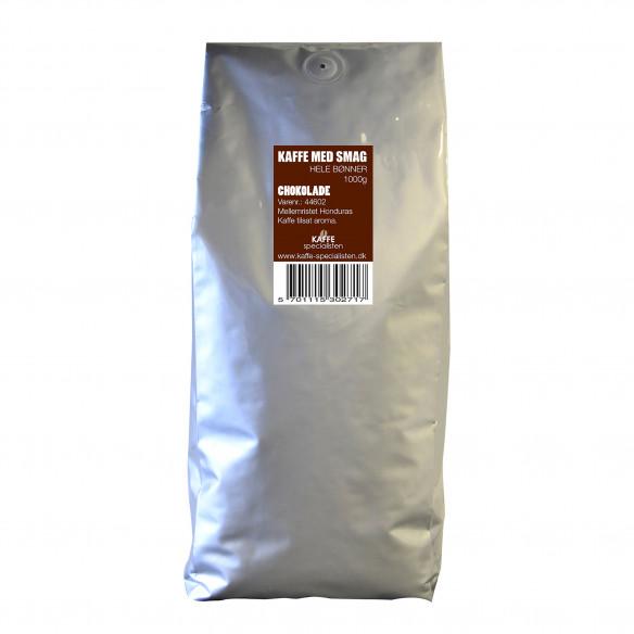 1kg Kaffebønner med Chokolade smag - Kaffe Specialisten