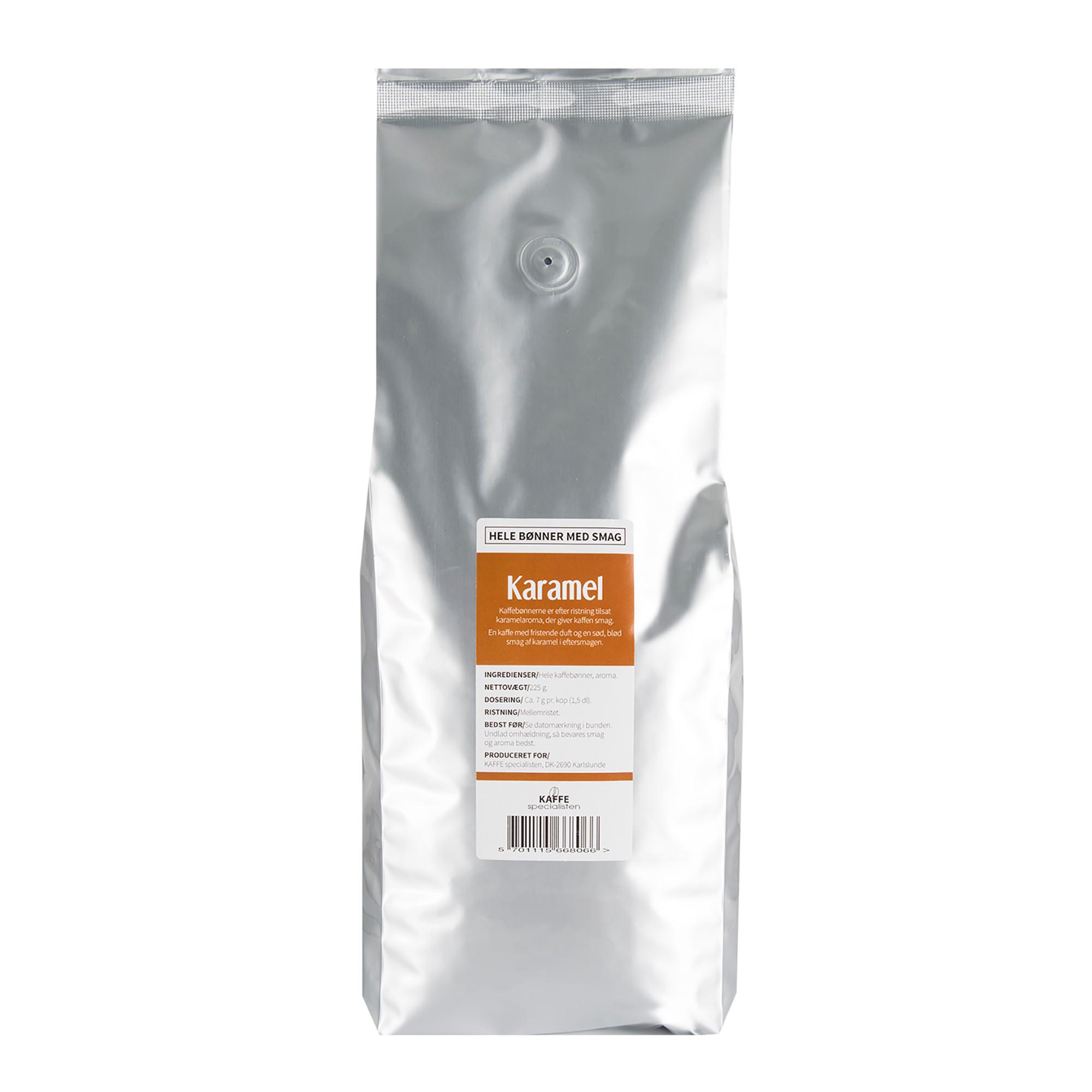 KAFFE Specialisten Kaffebønner Karamel Smag