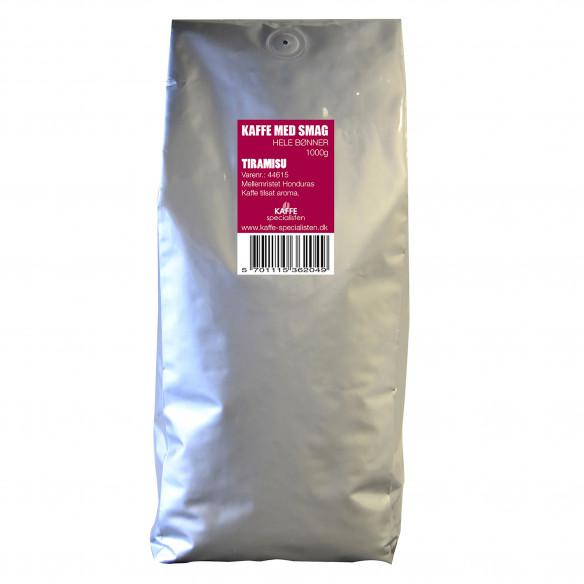 1 kg Kaffebønner med Tiramisu smag, fra Kaffe Specialisten