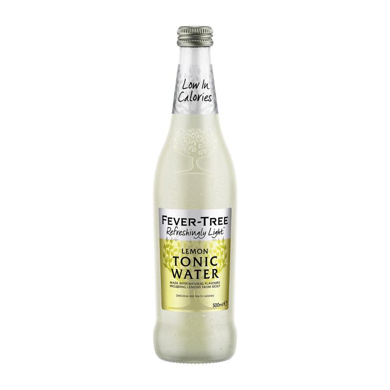 Fever-Tree Refreshingly Light Sicilian Lemon Tonic Water - 500 ml.