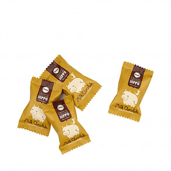 Barú Dreamy Hippos Milk Chocolate Honey Almond - 60 gram