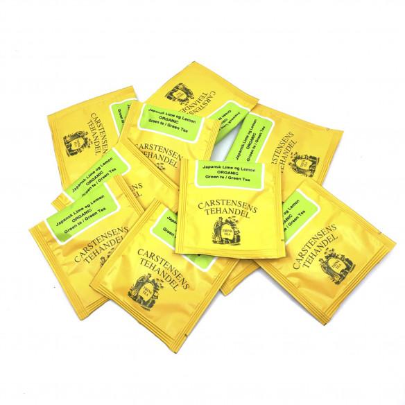Japansk Lime & Lemon, 15 tebreve - Carstensens Tehandel