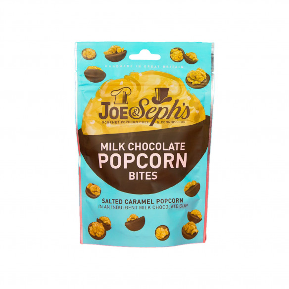 Milk Chocolate Popcorn Bites - Joe & Seph's