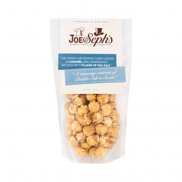 Double Salted Caramel Popcorn - Joe & Seph's
