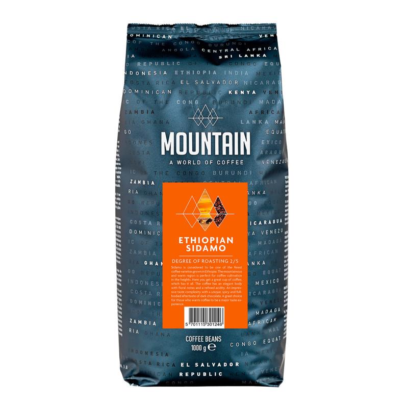 Mountain Etiopisk Sidamo Kaffebønner - Mountain Coffee
