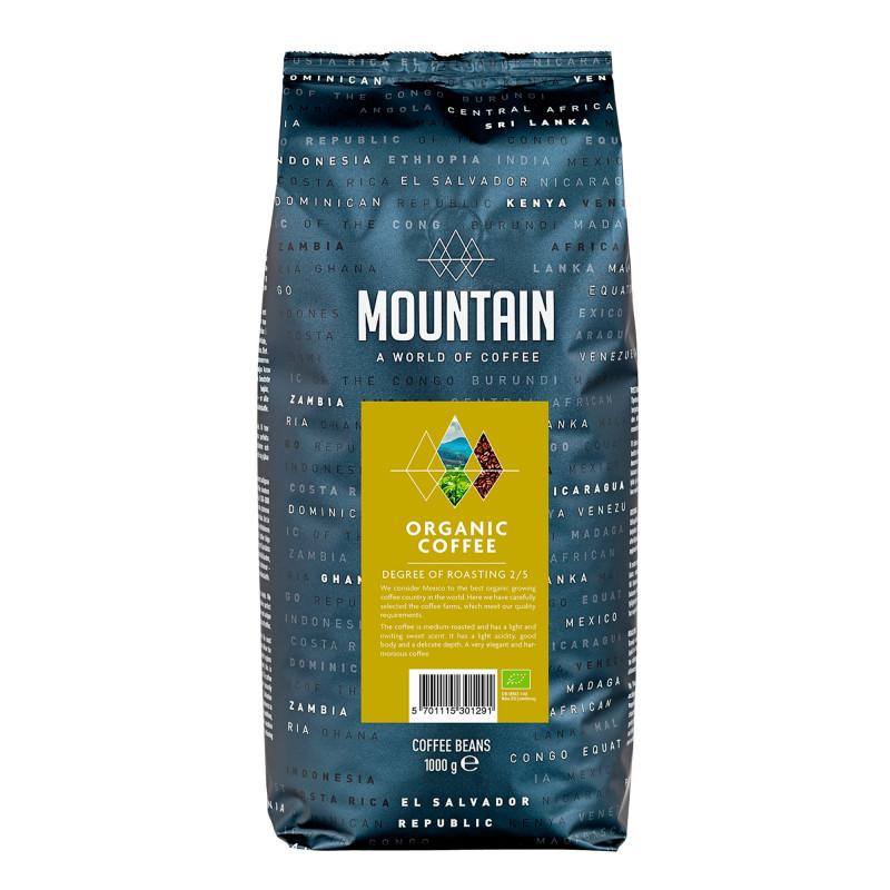 Mountain Økologisk Kaffebønner - 1 kg