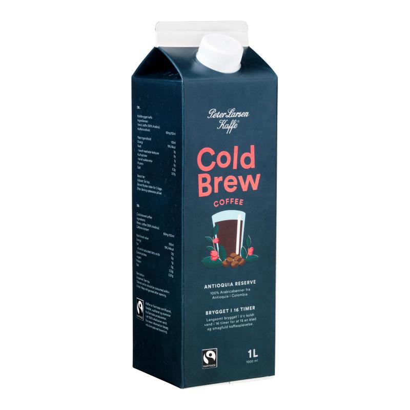 Cold Brew Coffee Antioquia, 1 liter - Peter Larsen Kaffe