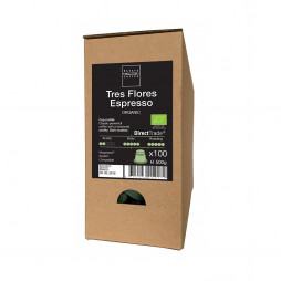 Tres Flores Espresso Kaffekapsler far Estate Coffee, 100 kapsler