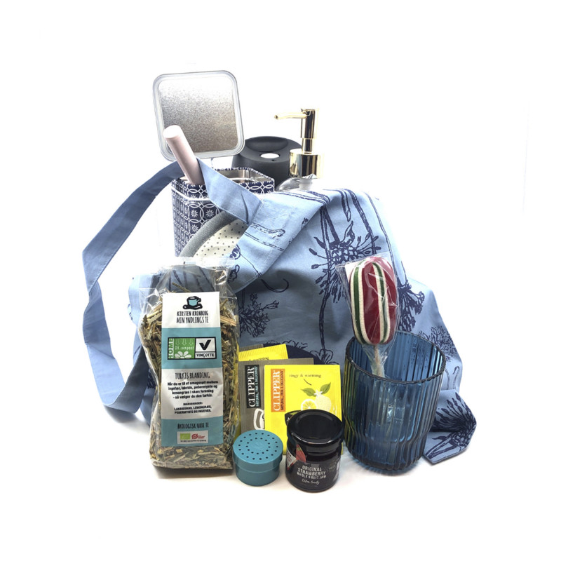 Goodiebag fra NORU - fyldt med forkælelse til dig