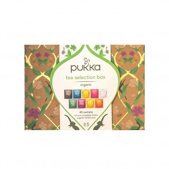 Pukka Tea Selection Te Box