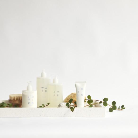 Hele serien af skønne cremer og sæber fra Hübsch