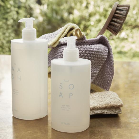 Perfekt makkerpar: Håndsæbe og Opvaskemiddel fra Hübsch