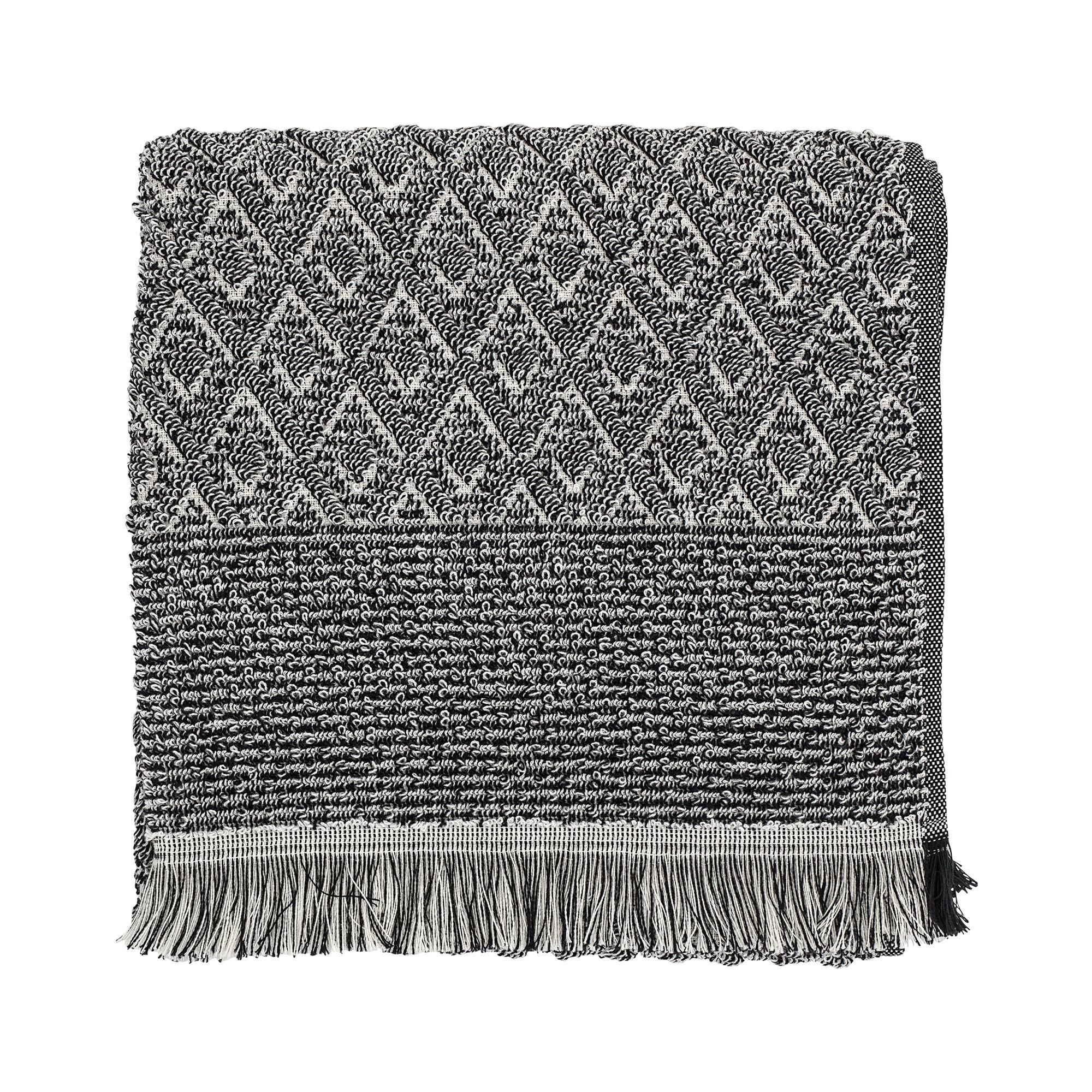 Billede af Håndklæde, Sort - 140x70 cm