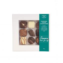 Sammen hver for sig, med Valrhona chokolade i gaveæske