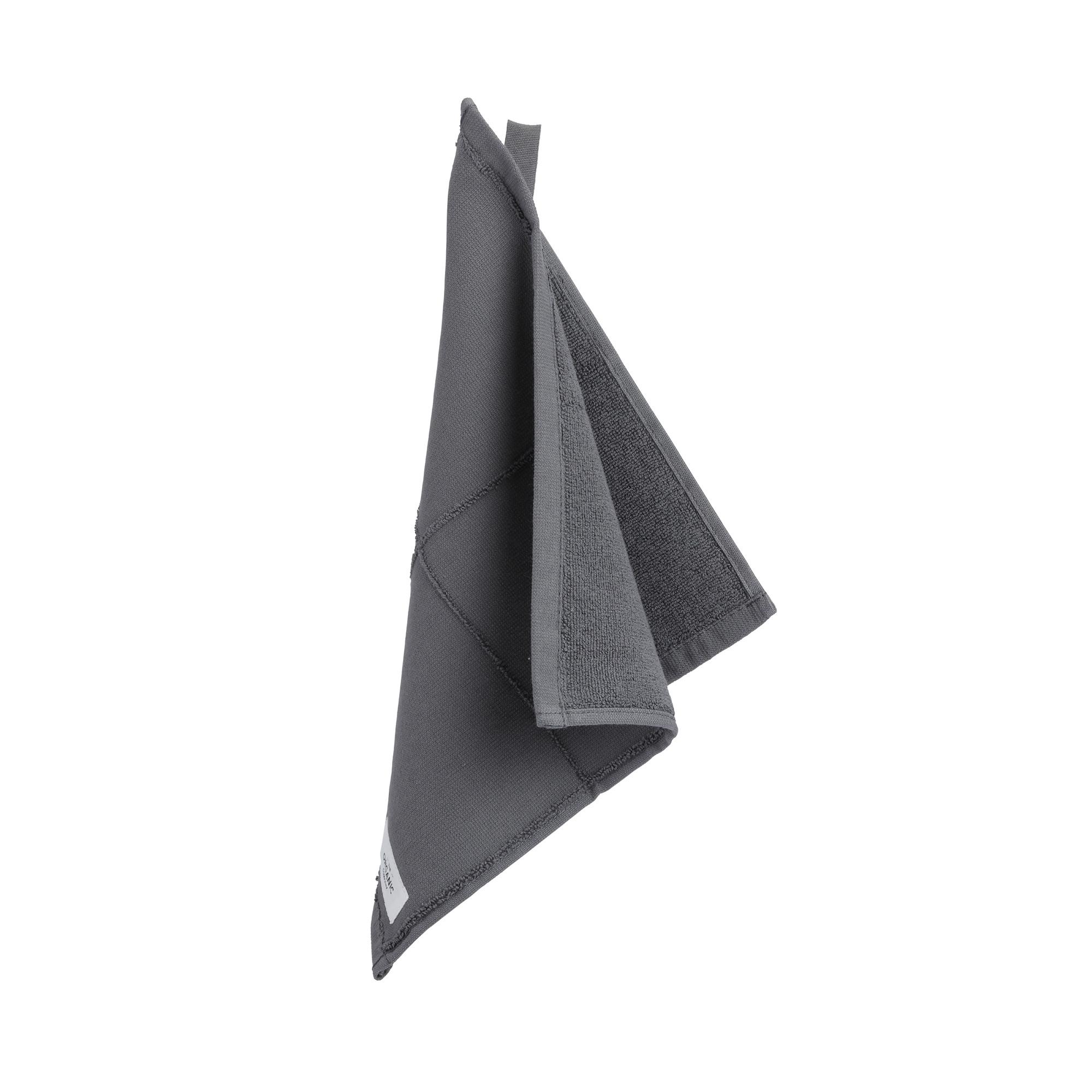 Billede af CALM Vaskeklude, Dark Grey - 4 stk.