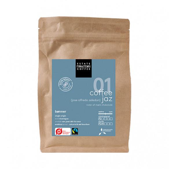 JAZ de Rio Coco hele kaffebønner fra Estate Coffee