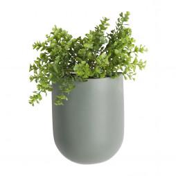 Væg blomsterkrukke. Grøn Oval fra Present Time.