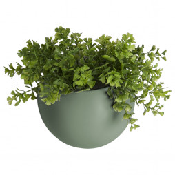 Væg blomsterkrukke. Grøn Globe fra Present Time.