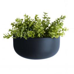 Væg blomsterkrukke. Oval Wide blå fra Present Time.