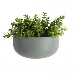 Væg blomsterkrukke. Oval Wide grøn fra Present Time.