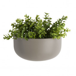 Væg blomsterkrukke. Oval Wide grå fra Present Time.