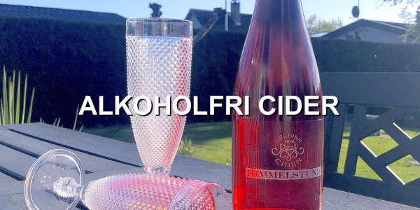 Alkoholfri Cider