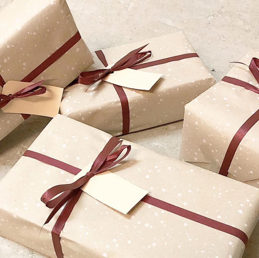 Lækker gaveindpakning hos NORU